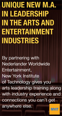 Nederlander Worldwide and The New York Institute of Technology announce a new educational partnership.